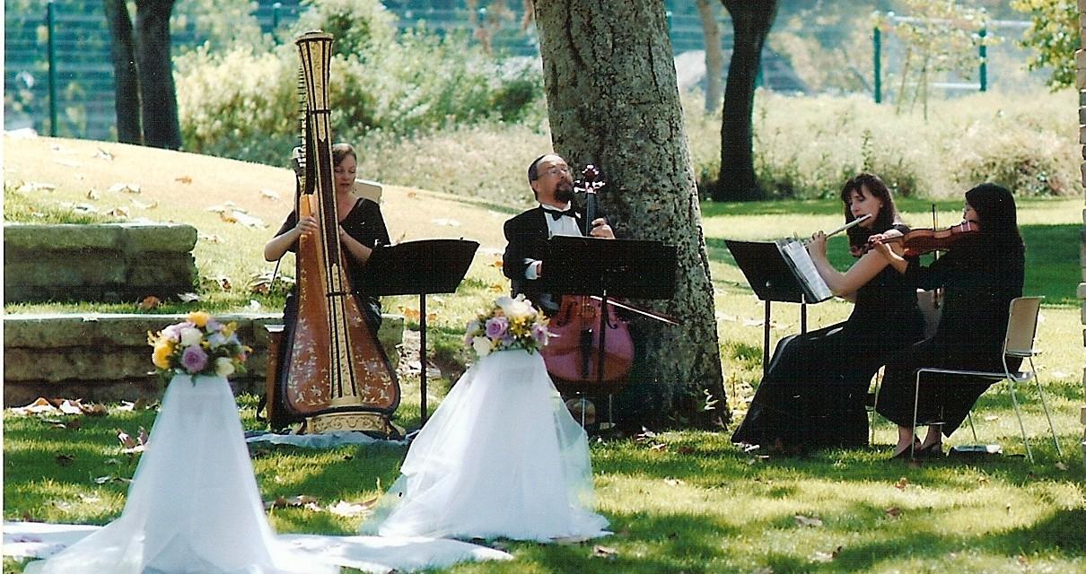 String Quartet with Harp