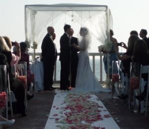 Wedding Ceremony Elegant Music Shutters On The Beach, Santa Monica, CA
