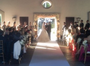 Bel Air Country Club Wedding Ceremony