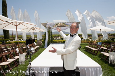 Eric Zimmermann, Elegant Music, Bridal Fashion Show Master of Ceremonies