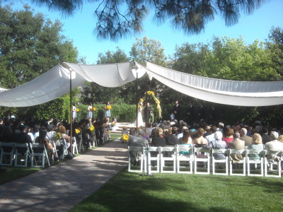 Maravilla Gardens Wedding Ceremony