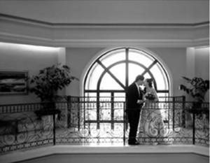 Groom and Bride @ Turnip Rose, Costa Mesa, CA