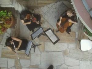 Flute Trio Mission Inn Wedding Riverside, CA.