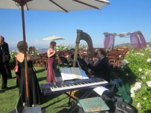 Saddle Rock Ranch Malibu Wedding Ceremony