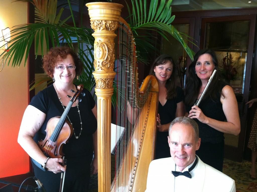 Elegant Music Quartet Four Seasons Westlake Bridal Show