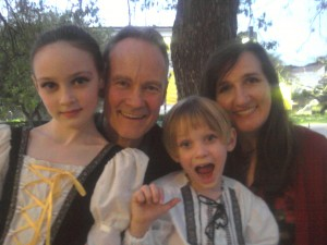 Zimmermann Family: Sara, Eric, Lance and Sheila