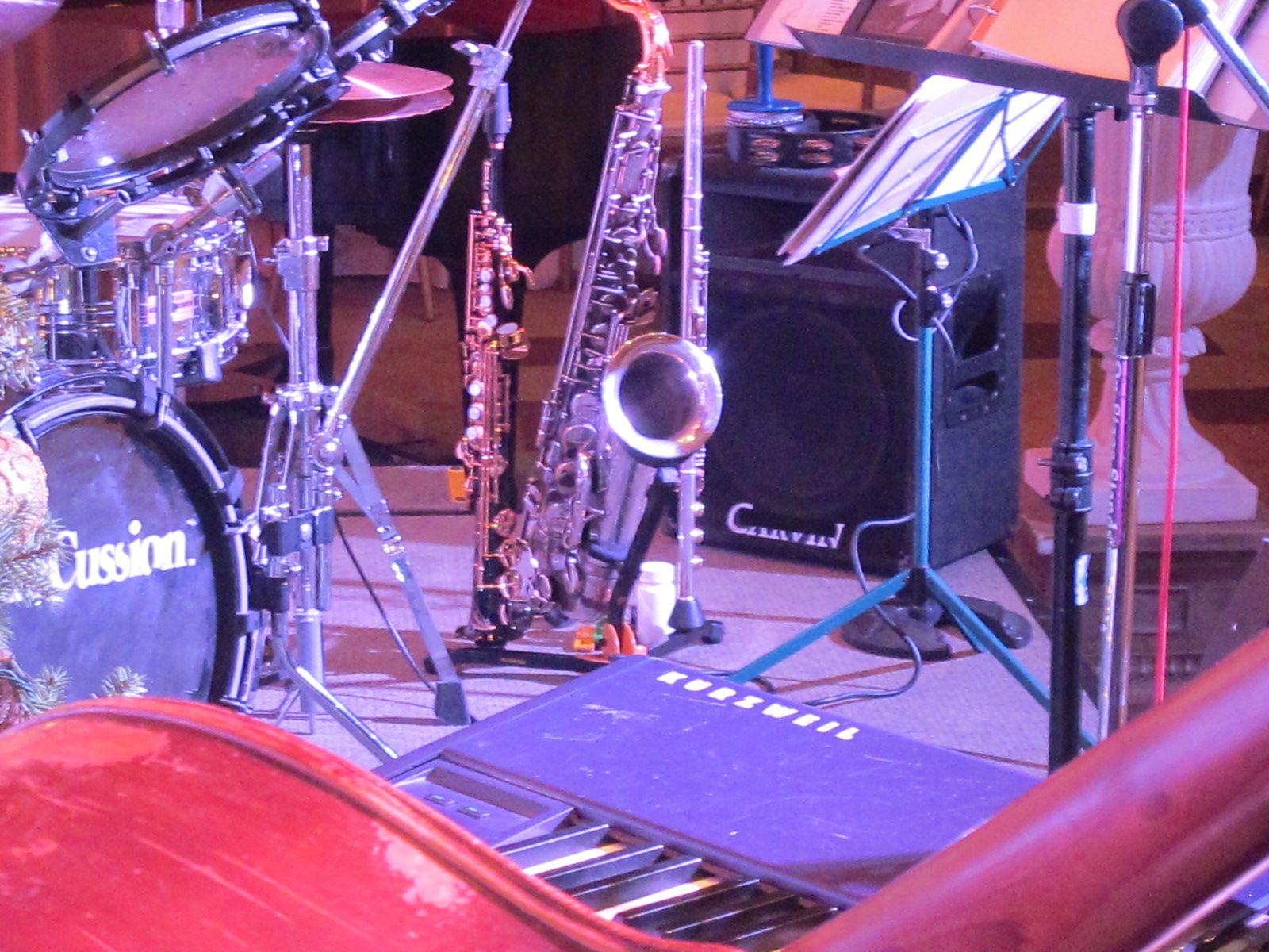 Jazz Trio with Sax and Vocalist
