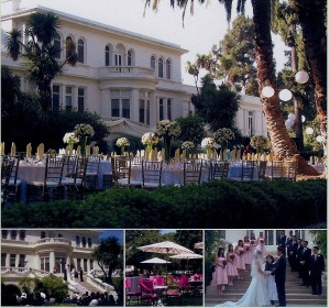 Garden Wedding at the Pasadena Museum of History.