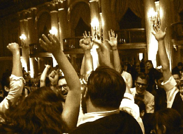 Wedding Reception Dancers Chrystal Ballroom Biltmore Los Angeles