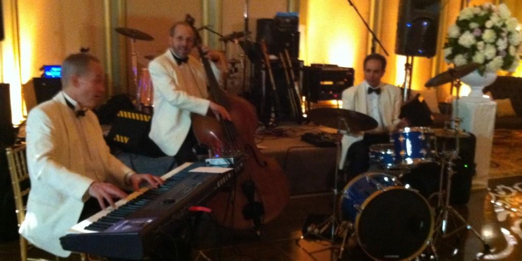 Elegant Music Jazz Elegant Music Trio Wedding Reception Viennese Ballroom Langham Hotel Pasadena, CA