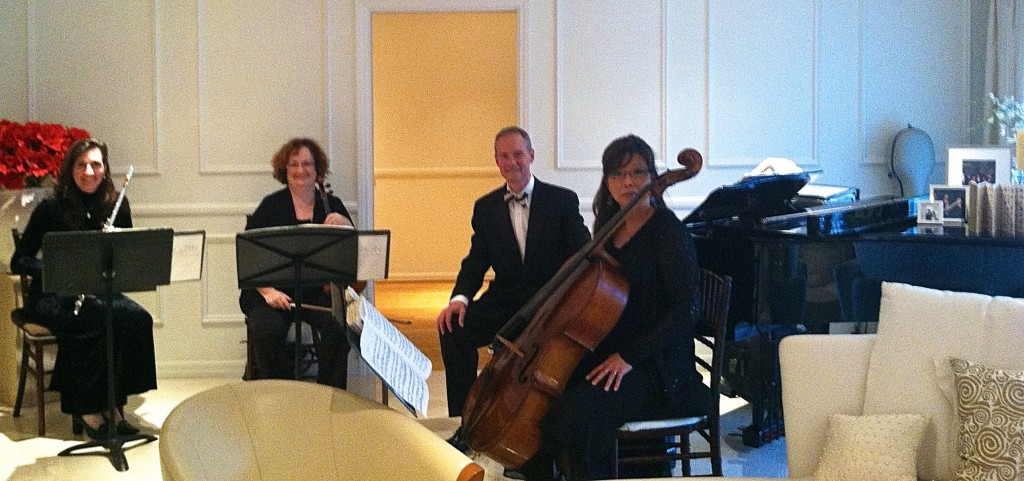 Elegant Music Quartet South Pasadena Home