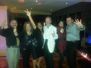 New Year's Eve 2014 Revelers @ Long Beach Airport Holiday Inn