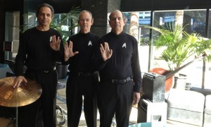 Elegant Music Star Trek Jazz Trio