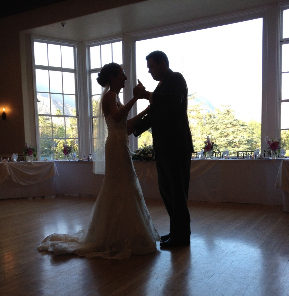 First Dance - Altadena Country Club - Eric Zimmermann DJ/Master of Ceremonies