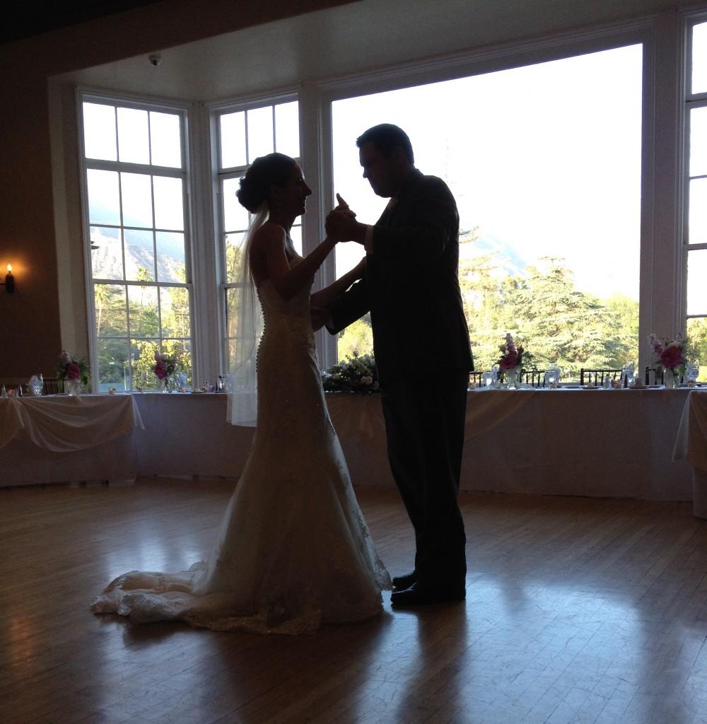 First Dance - Altadena Country Club - Eric Zimmermann DJ/Master of Ceremonies