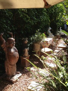 Backyard party in Encino Pianist Eric Zimmermann Elegant Music
