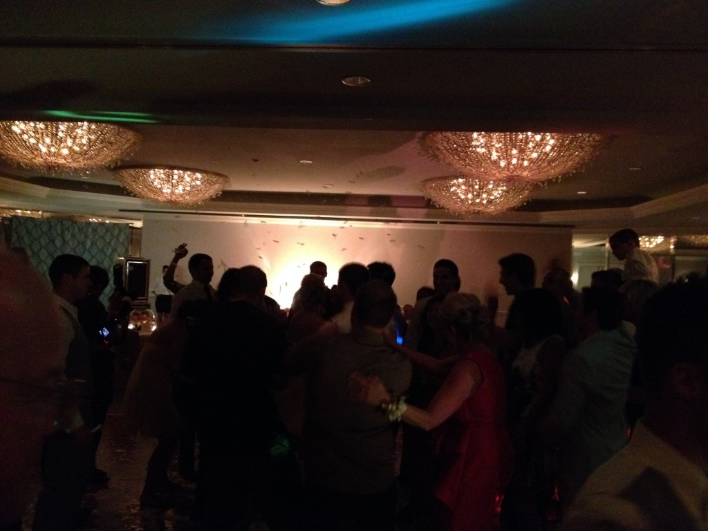 San Diego wedding reception @ Loews Coronado.  DJ Dance Music by Eric Zimmermann Elegant Music