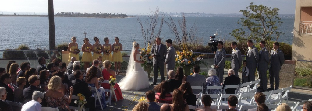 Wedding Ceremony Loews Coronado San Diego