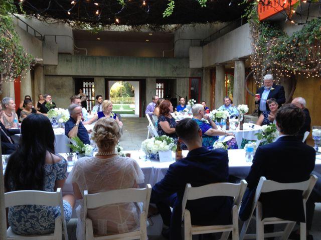 Wedding Reception @ Clarke Estate Courtyard