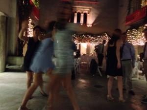 Wedding Reception Dancers @ Clarke Estate Courtyard