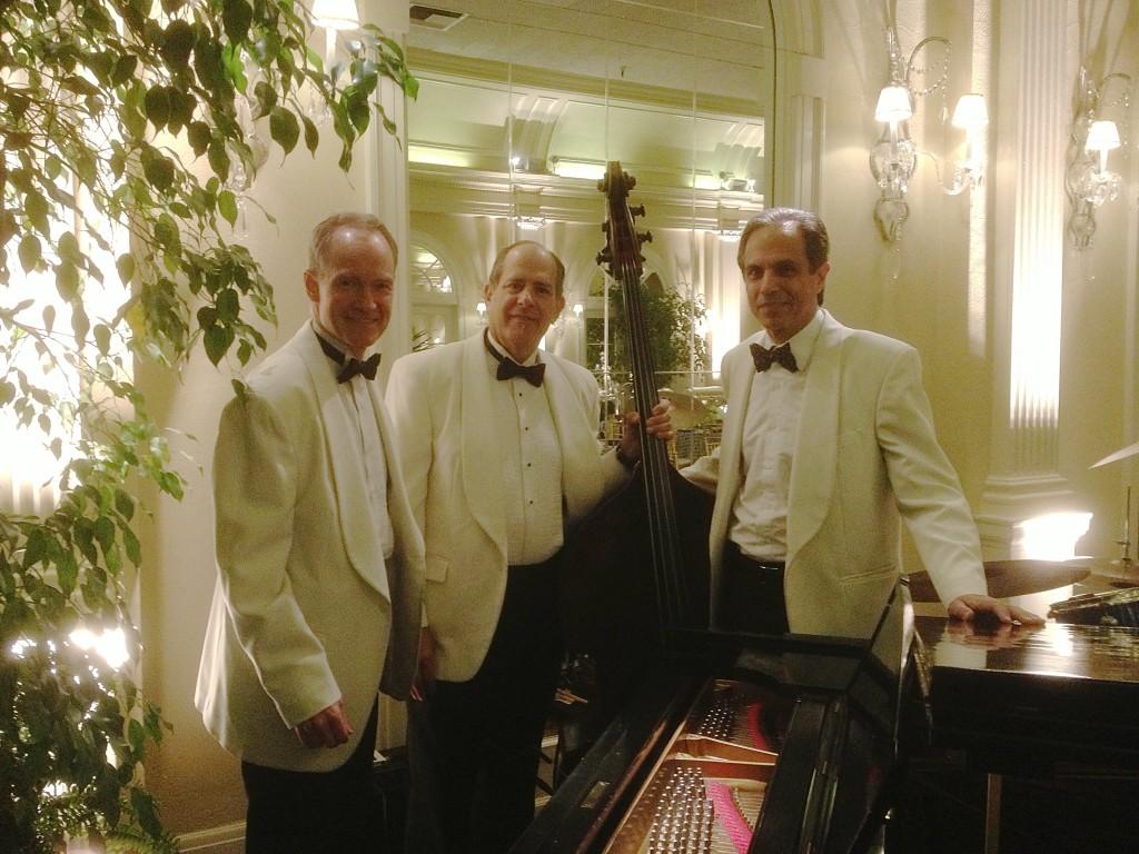 Elegant Music Jazz Trio @ a private club in Pasadena