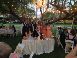 Wedding Reception @ Pickwick Gardens Burbank Congratulations Melodi & Grant