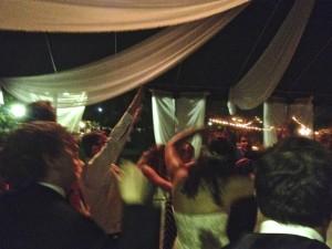 Dancers @ Melodi and Grant's Wedding @ Pickwick Gardens Burbank, CA.
