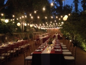 """This wedding was catered by """"The Kitchen For Exploring Foods""""."""