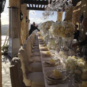 Rocky Oaks Wedding Reception Design by Aquafuzion