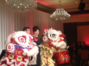Lion Dance - Chinese New Year Celebration with Danny and Carol Woo @ Four Seasons Westlake Village, CA