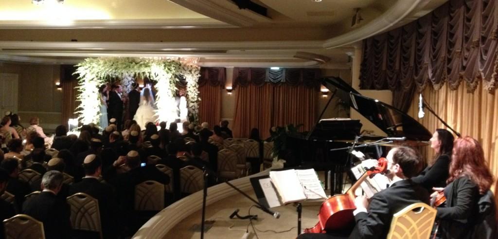 Crystal Ballroom Wedding @ Beverly Hills Hotel Elegant Music Quartet