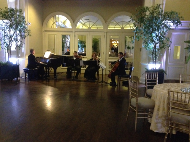 Elegant Music Quartet - Anniverary Party @ Valley Hunt Club