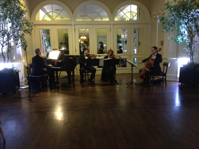Elegant Music Quartet @ The Valley Hunt Club
