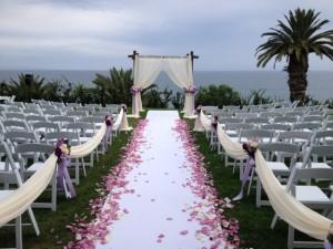 Wedding Ceremony @ Bel-Air Bay Club Pacific Palisades, CA