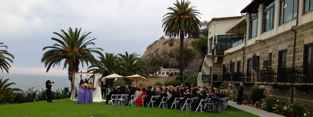 Elegant Music Quartet @ Bel-Air Bay Club Wedding Ceremony