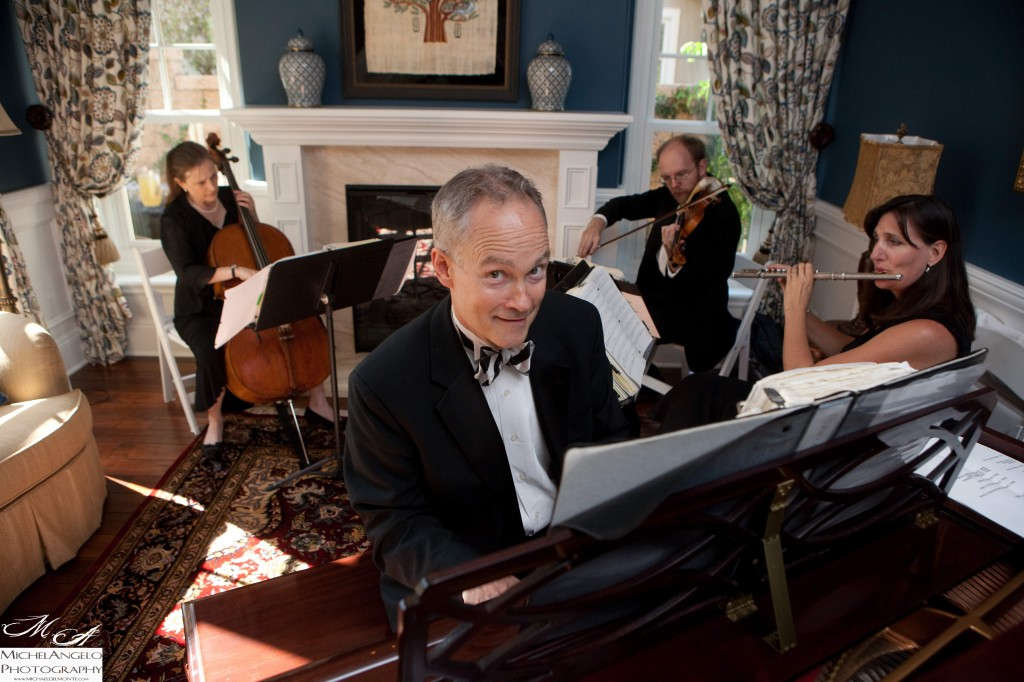 Eric Zimmermann with the Elegant Music Quartet