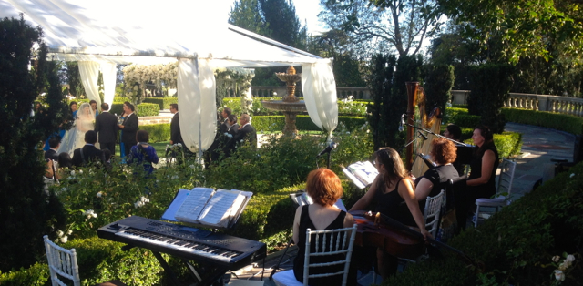 Elegant Music Quintet @ Greystone Mansion Wedding Ceremony