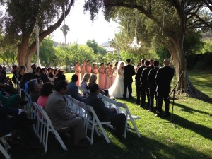 Wedding Ceremony @ Hummingbird Nest Ranch Elegant Music