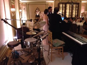 Elegant Music Jazz Trio performed during dinner.