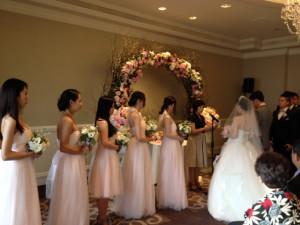 Ritz-Carlton Laguna Niguel Wedding Ceremony conducted by Sherrien Shui.