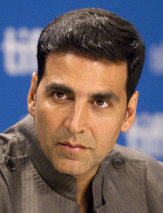 Bollywood actor Akshay Kumar attends a news conference for the film Breakaway at the 36th Toronto International Film Festival in Toronto