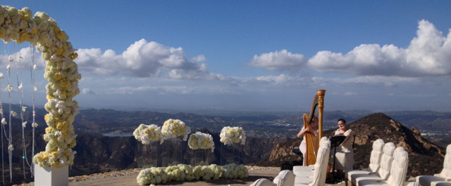 Harp-and-Flute-@-Rocky-Oaks-Wedding-Ceremony