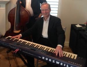 Pianist Eric Zimmermann with the Elegant Music Jazz