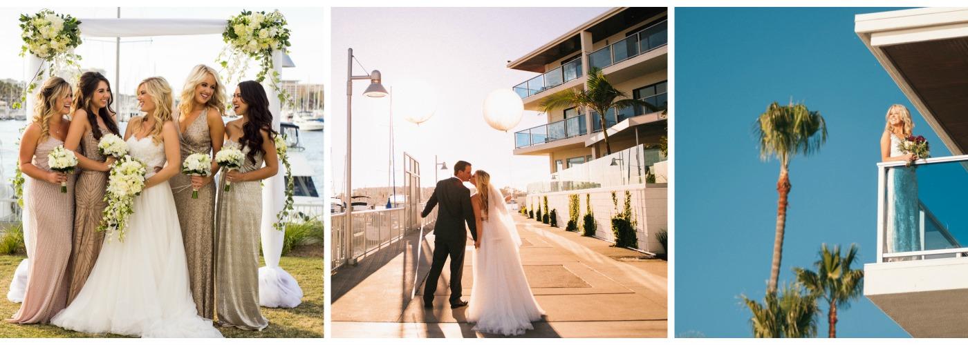 Marina del Rey Hotel Wedding