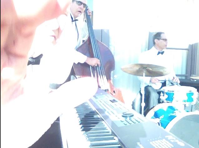 Elegant Music Jazz Trio on the Viennese Terrace Langham Hotel Pasadena