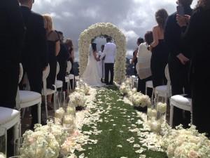 Dominique and Clinton's Wedding Ceremony @ Rocky Oaks Estates