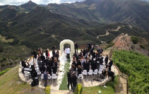 Flute, Piano & Harp music for Wedding Ceremony on the helicopter pad @ Rocky Oaks Estates