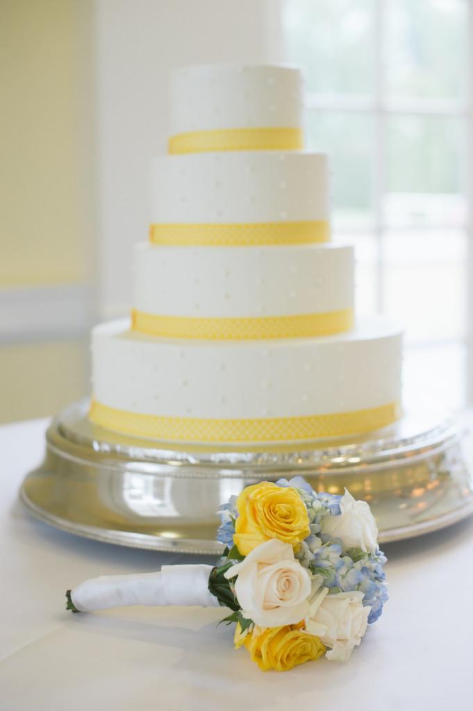Wedding Cake @ Lindley Scott House