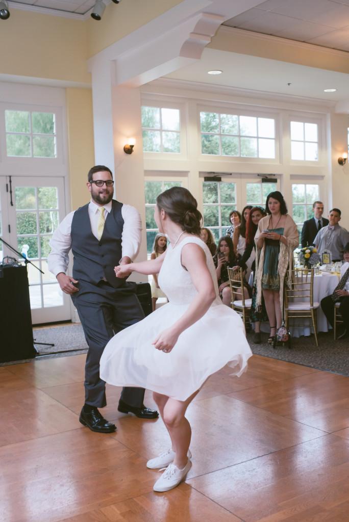 Surprise First Dance @ Lindley Scott House