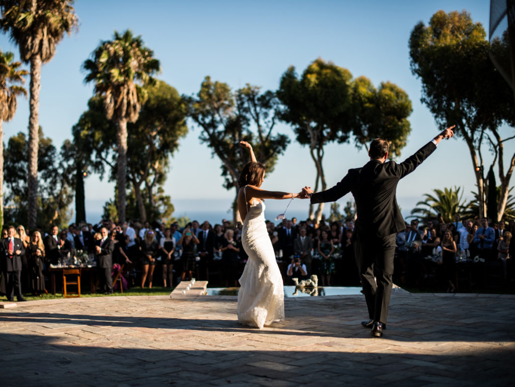 Jessica & CJ First Dance @ Villa Sancti Di Bella Vista DJ/Master of Ceremonies Eric Zimmermann Elegant Music 626-797-1795